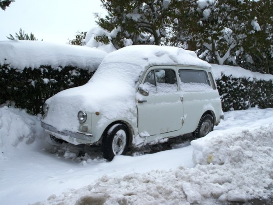 Schnee in Italien