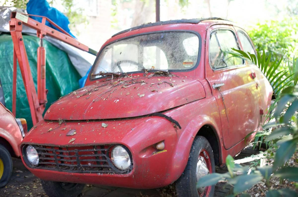 ...Fiat 500 Umbau R.I.P.
