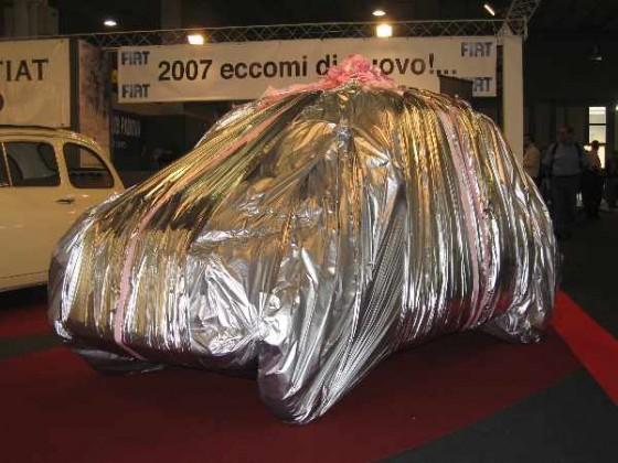 neuer 500er in Padua noch verpackt