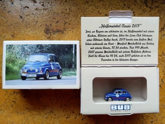 Modell meines Fahrzeuges von der Firma BUB im Jahre 2013 . Es wurden 500 Stück aufgelegt.