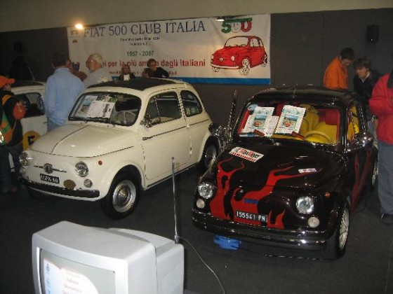 Stand Fiat 500 Club Italia @ Padua