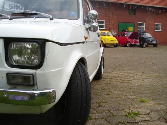 Fiat 500 / 126 Treffen auf dem Bulli-Hof Neuenknick