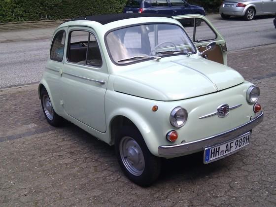 Fiat 500 D BJ 1961