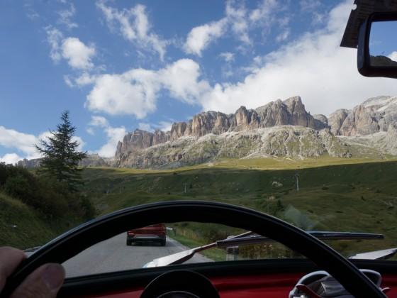 Das perfekte Wagen für die Dolomiten oder Alpen.