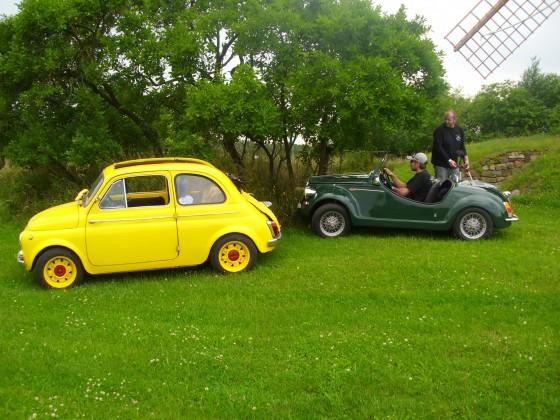 Fiat 500 / 126 Freunde Treffen 2016 / Bulli-Hof