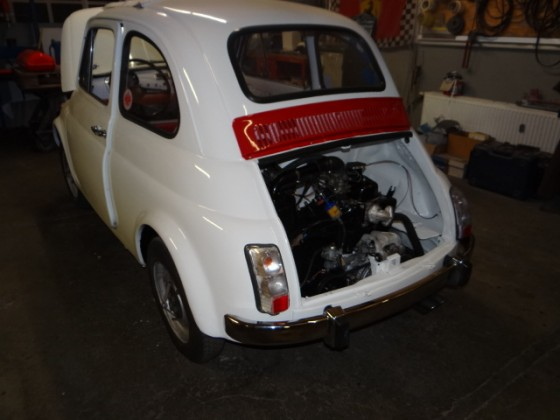 Fiat 500 F Tuning / Restauration