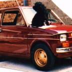 Mitte 80er mit Beifahrer