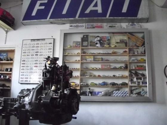 Zum Fiat 500 / 126 Freunde Treffen gibtes viel zu sehen