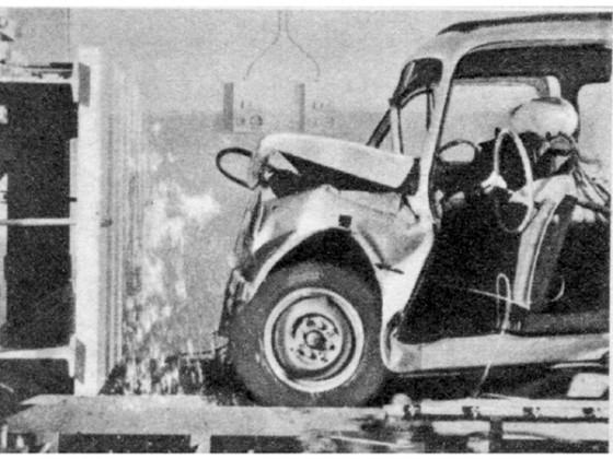 Crashtest Fiat 500 Kombi Nr.3
