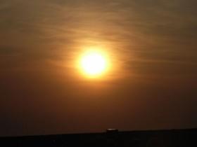 Kieler Sonnenuntergang