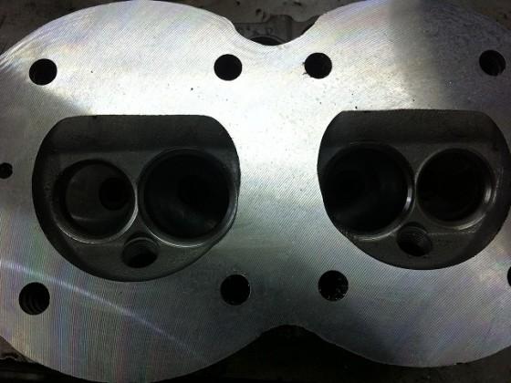 Zylinderkopf 7mm Schaftventile