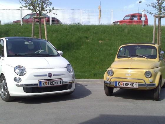 mein alter und neuer 500er (der neue ist schon wieder verkauft)