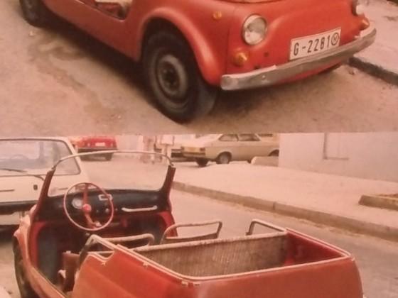 Kombistrandwagen auf Malta