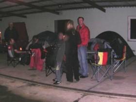 Zeltplatz, trocken und gerade