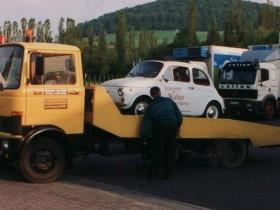 Hoch auf dem gelben Wagen....