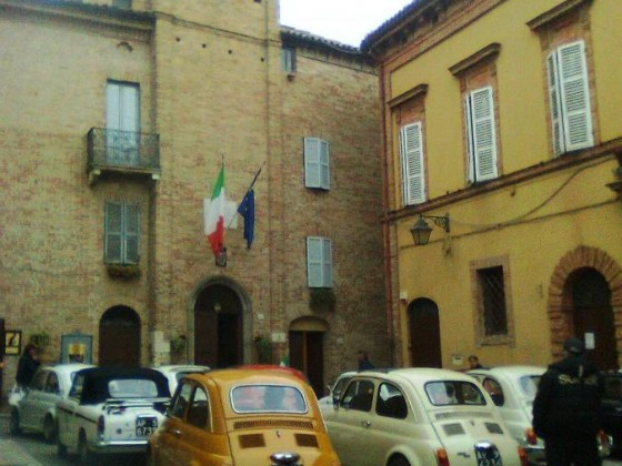 Fiattreffen in Cossignano