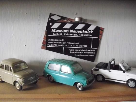Fiat 500 / 126 Sammlung im Museum Neuenknick