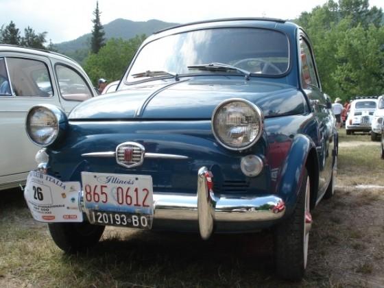 Fiat 500 N - American Style