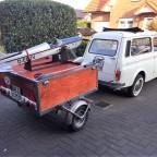 Fiat Giardiniera Anhänger Flugzeug 10