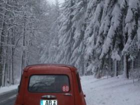 Schneepause