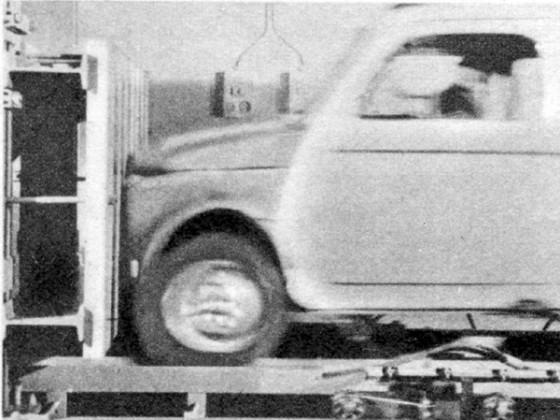 Crashtest Fiat 500 Kombi