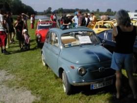 Fiat 500 Treffen 2002 Dillingen