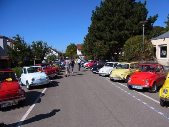 Fiat 500 Treffen 2012