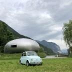 Besuch beim UFO
