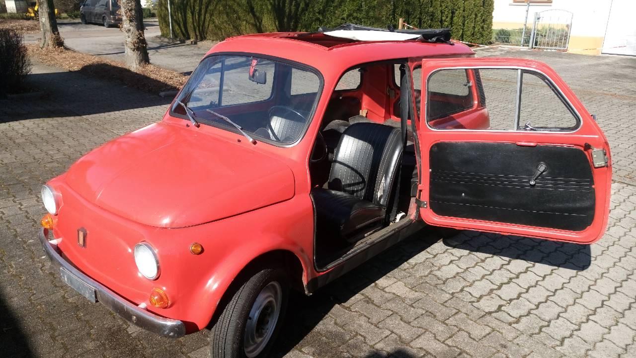 Verkaufe Fiat 500 Kombi 1976 Bianchi Fahrzeuge Biete Fiat