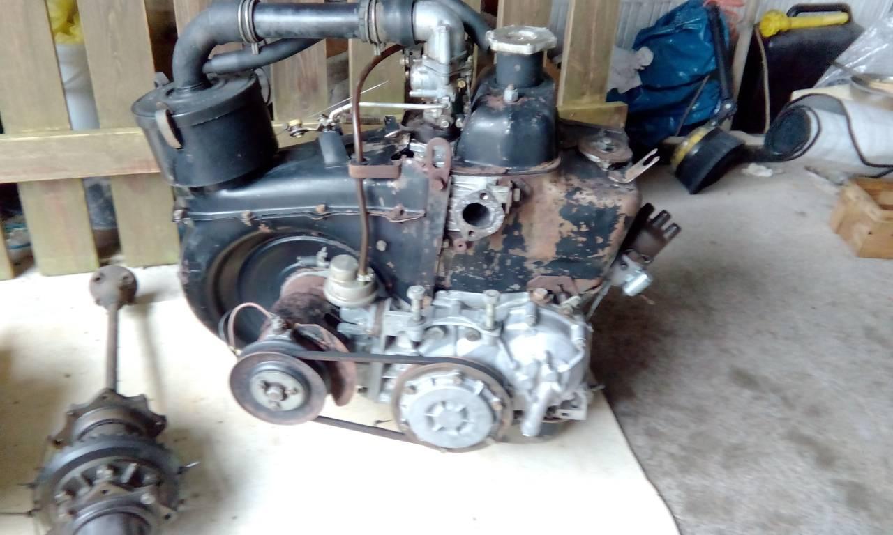 Biete Original 500 Motor und unsynkronisiertes Getriebe - Teile ...