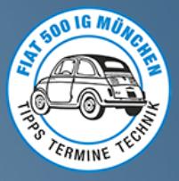 FIAT 500 IG München